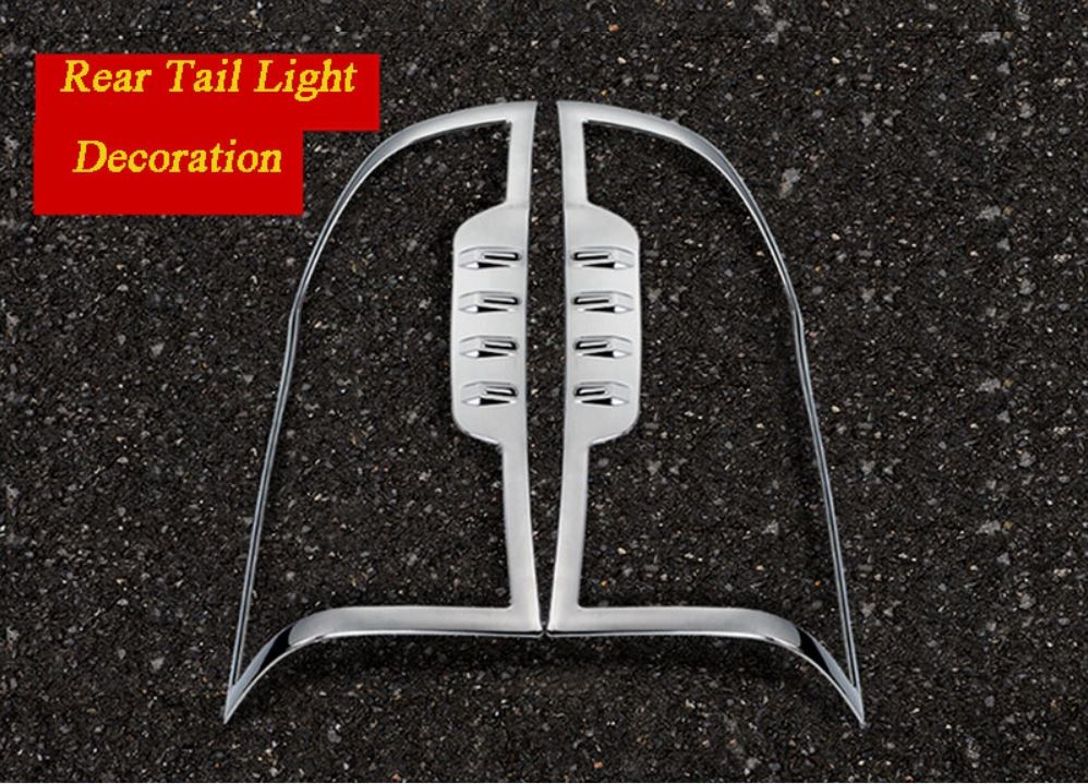 Car Cover ABS Rear Tail Lamp Light Taillamp Trim For Mercedes Benz V CLASS V250 V260 V220 VITO W447 2014 2015 2016 2017 2018 in Chromium Styling from Automobiles Motorcycles