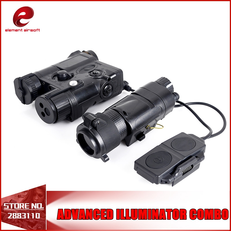 Element Tactical light L-3 Advanced Illuminator Combo with AN/PEQ-16A M3X Hunting Light For Gun  EX179