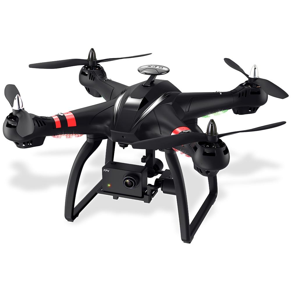BAYANGTOYS X22 Sans Brosse Double GPS Drone Professionnel WiFi FPV RC Quadcopter 1080 p Caméra HD Avec Cardan à 3 Axes maintien de l'altitude