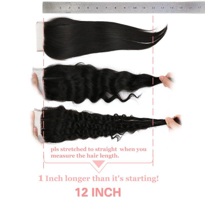 Волнистые 5x5 hd прозрачные бразильские необработанные волосы