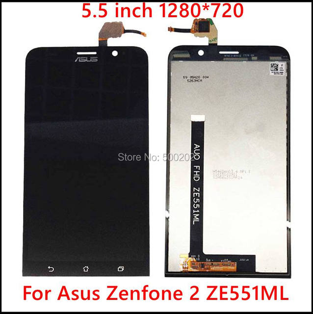 New Original LCD Display + Touch Screen Digitizer Assembly for Asus Zenfone 2 ZE550ML ZE551ML ZE500KL ZE550KL ZE500CL + Tracking