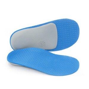 Image 4 - Eva pé arco palmilhas valgus x em forma de pernas o perna arco apoio pés planos palmilhas ortopédicas suor respirável sapato almofada inlegzolen