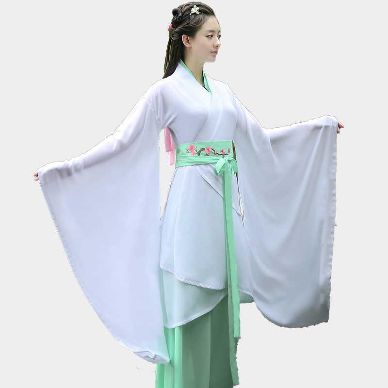Новое китайское Старинное платье, костюм для косплея костюм, китайский, традиционный костюм древняя Династия Тан Hanfu женские платья Hanfu
