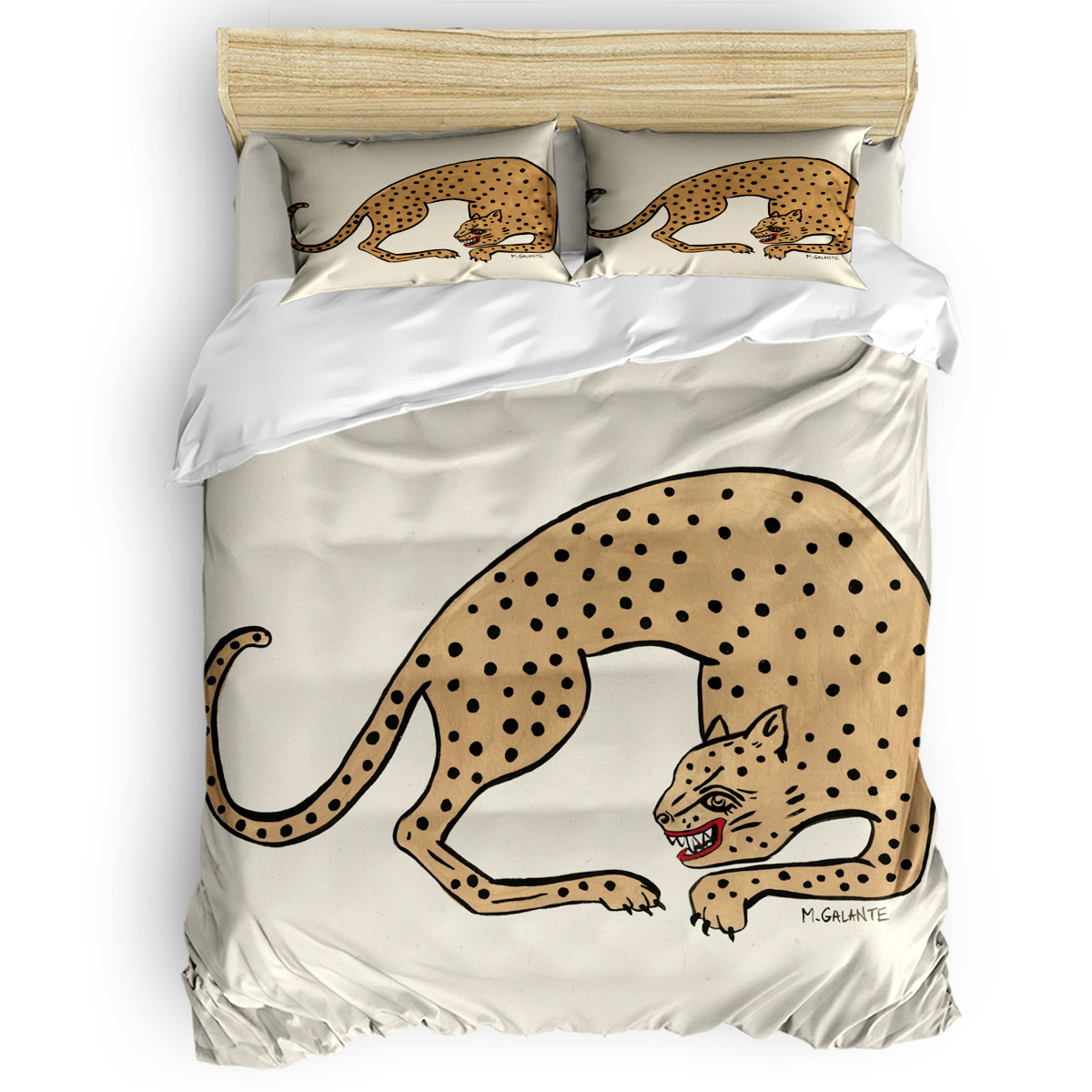 Vintage Retro Wild Beast Cheetah Duvet Cover Set Animals Beige Collection of 3/4pcs Custom Bedding Set Bed Sheet Cover SetVintage Retro Wild Beast Cheetah Duvet Cover Set Animals Beige Collection of 3/4pcs Custom Bedding Set Bed Sheet Cover Set
