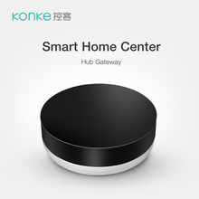 Konke Zigbee Multifunctional Gateway Hub Smart Home Remote Control Works with Alexa APP control for Xiaomi phone(China)