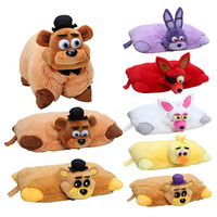 7pcs FNAF Plush 43cm*30cm Five Nights At Freddy's Pillow Mangle Foxy Chica Bonnie Golden Freddy Fazbear Plush Toys Cushion