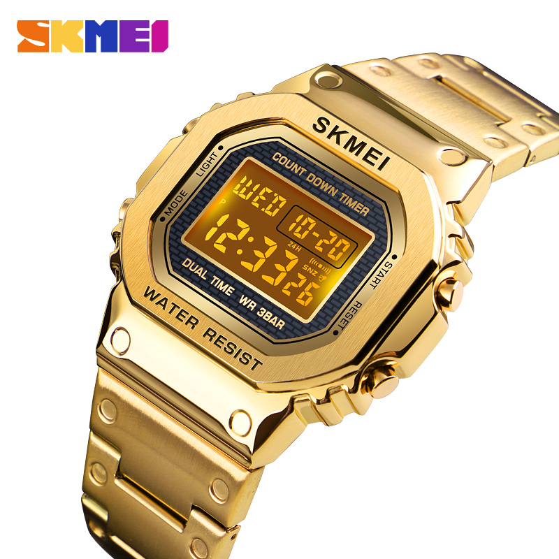 Sports Watches Men Electronic Led Digital Mens Watches Top Brand Luxury Male Clock Waterproof Watch Relogio