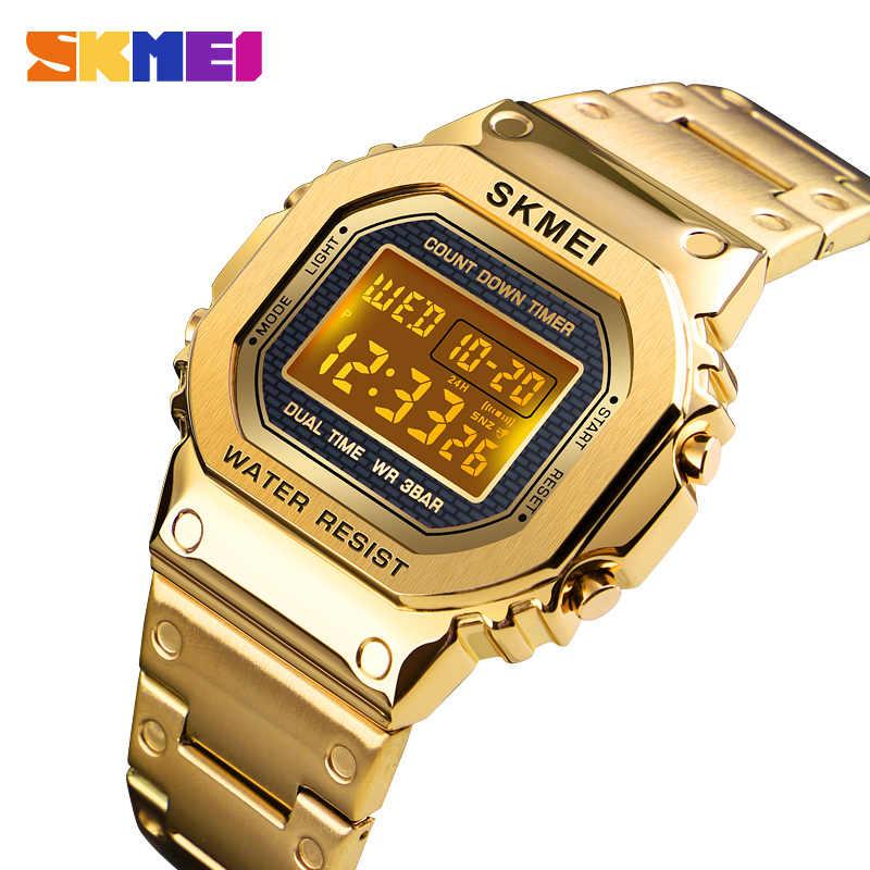 スポーツ腕時計男性電子 Led デジタルメンズ腕時計トップブランドの高級男性時計防水時計レロジオ Masculino SKMEI