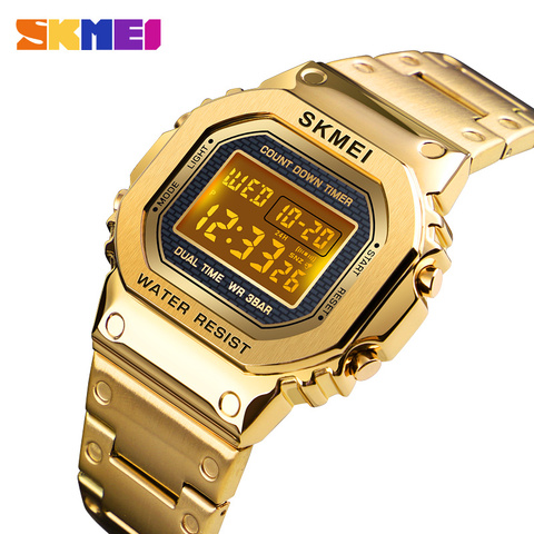 Sports Watches Men Electronic Led Digital Mens Watches Top Brand Luxury Male Clock Waterproof Watch Relogio Masculino SKMEI Pakistan