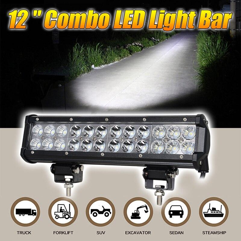 inch w barra de luz led con chips de led lmpara de trabajo para