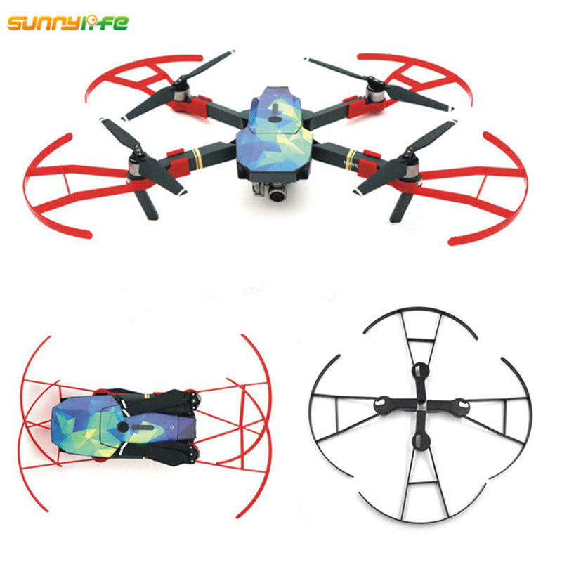Sunnylife 4pcs Propeller Protection Ring 8330F Props Guard Circle Blade Bumper Drone Anti collision Ring Cover