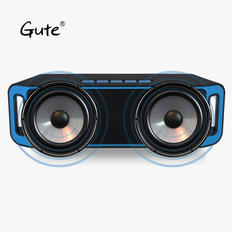 Gute 2019 popular Fashion square Bluetooth dual speaker haut parleur bluetooth grande puissa enceinte bluetooth portable