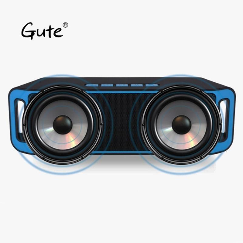 Gute 2019 popular Fashion square Bluetooth dual speaker haut parleur bluetooth grande puissa enceinte bluetooth portable