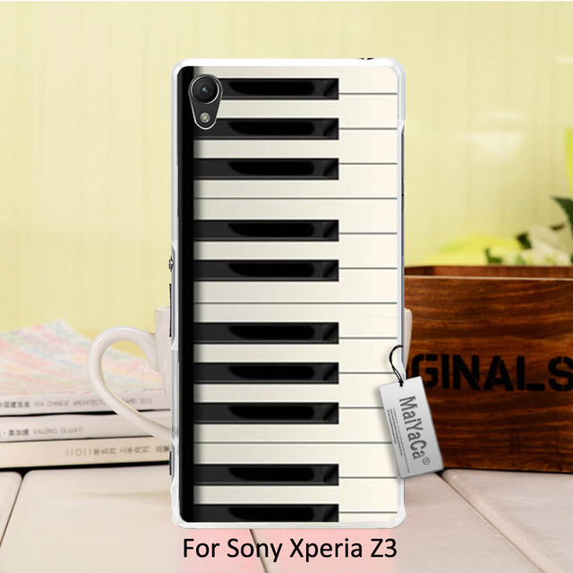 US $1 29 35% OFF|MaiYaCa Diy Luxury High end Protector phone Electronic  Organ The piano Keyboard Design For Sony z3-in Fitted Cases from Cellphones  &