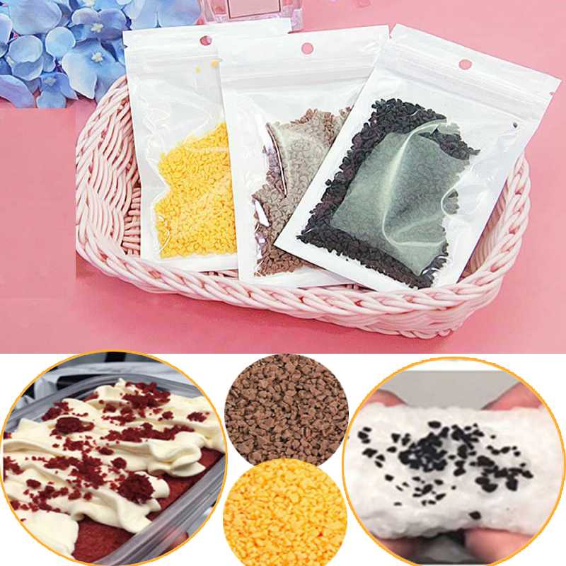 Hot Sale 15g Chocolate Slime Clay Sprinkles For Filler Supplies Candy Fake Cake Dessert Mud Decoration Toys For Children Kids