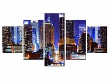 Wholesale 5 Panel Beautiful city view Wall Pictures for Living Room Picture Print Painting On Canvas Art Home Decor/City-77