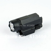 Quick Release тактический светодиодный фонарик Cree для Glock 17 19 20 21 22 23 20 мм Weaver или Picatinny rail Глок аксессуары