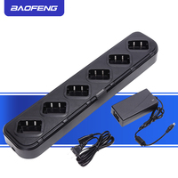 Baofeng Six Way Charger Multiple Safety Protection For Retevis H777 H 777 For Baofeng 888S bf 888S Walkie Talkie Chargers