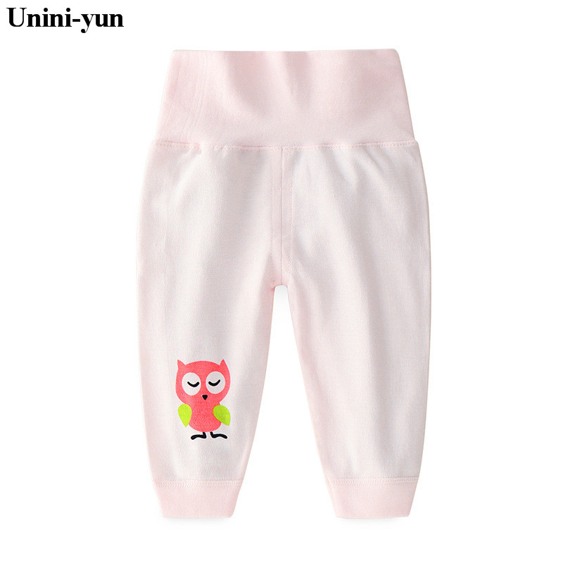 Cotton Baby Pants Leggings Bbebe-Trousers Born Toddler Girl Infant Autumn Cartoon Spring