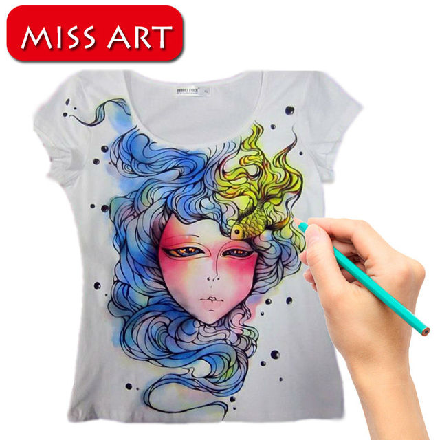 Personalized Custom T Shirt Airbrush Hand Painted Individuality Tees GOOD  for halloween carnaval Christmas costume