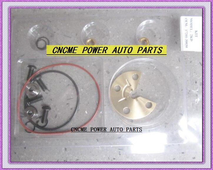 TURBO Repair Kit rebuild Kits Oil cooled Turbocharger CT16 17201-30030 For Toyota Hiace Hilux 2.5L D4D 2001- 2KD 2KD-FTV 102HP