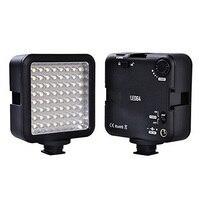 Top Deals 64 LED Camera LED Panel light,Portable Dimmable Camera Camcorder Led Panel Video Lighting for DSLR Camera
