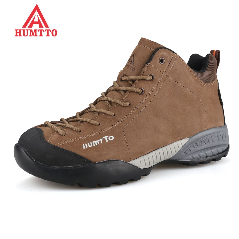 Hot Winter Hiking Shoes Men Genuine Leather Waterproof Outdoor Sneakers Climbing Boots Breathable Sport Warm Hunting Mountain peak sport men outdoor bas basketball shoes medium cut breathable comfortable revolve tech sneakers athletic training boots