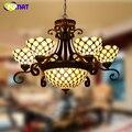 FUMAT витражный светильник Chandlier в европейском стиле  Классический светильник для гостиной  отеля  стеклянный арт-светильник  светильники  зан...