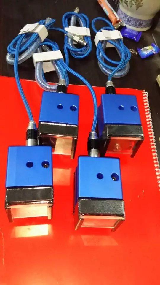 Портативный пневматический Ник шлифовальный станок для плоского высечки ножа высечки слота лезвия доска точка машина, машина для обработки прессформы