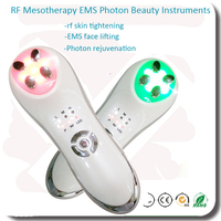 Free Shipping Home Use 3 Colors Led Light Photon Anti Aging Wrinkle Face Lifting Tightening Whitening