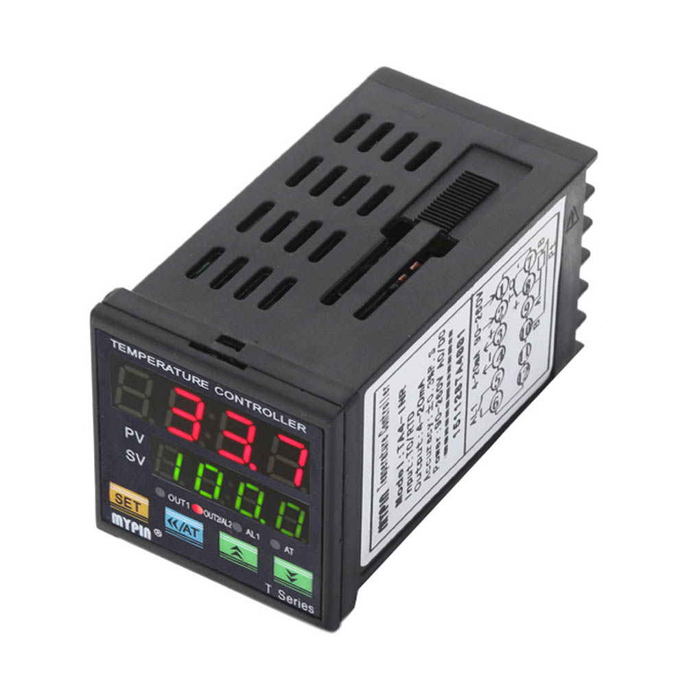 MYPIN TA4-INR 90-260V AC/DC Digital PID Temperature Controller 4-20mA Analogue Output Alarm Thermostat Control 90 260v ac dc digital timer 4 digit display alarm clock countdown time counter chronograph relay output 1 alarm