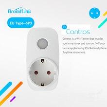Broadlink SP3 Contros CC EU Plug Wireless Smart Power Supply Socket 16A Timer Plug Wifi Remote Control Smart Home IOS Android