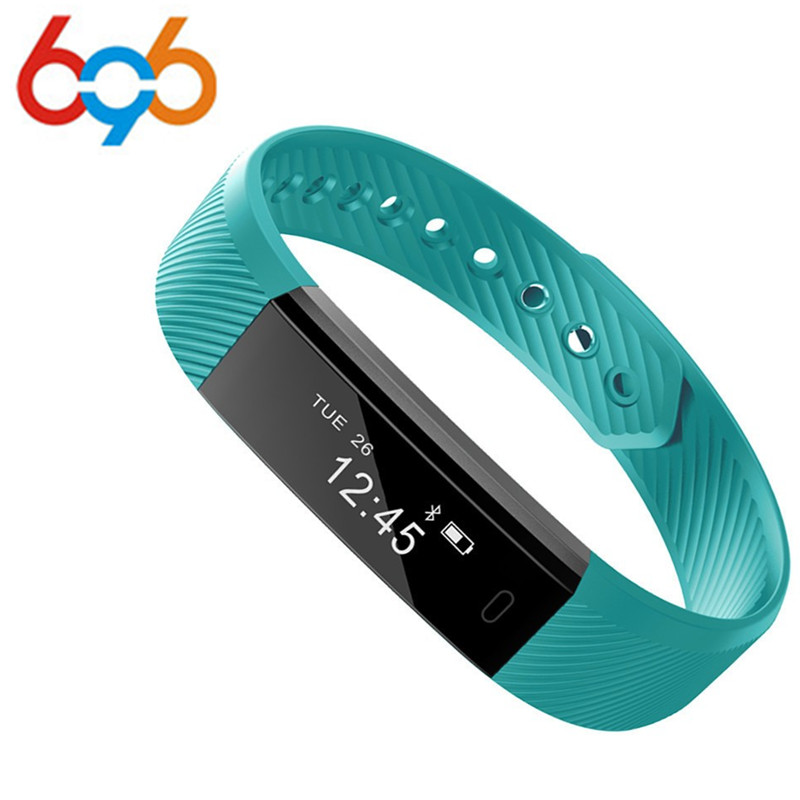 696 ID115 Smart Bracelet Heart Rate Monitor Activity