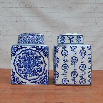 Tao Caicai's new classical porcelain decoration decorative ceramic pot with Home Furnishing four European soft decoration