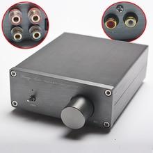 NOUVEAU Brise Audio HiFi Classe 2.0 Audio Stéréo Numérique Amplificateur de Puissance TPA3116 Avancée 2*50 W Mini Maison En Aluminium boîtier amp