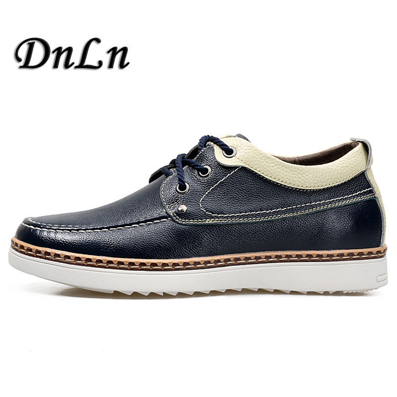 2018 Invisible Elevator Shoes For Men Height Increase Breathable Casual Men s Leather Shoes ND50