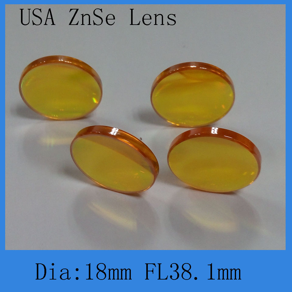 co2 laser focus lens 18mm diameter 38.1mm focal lengthco2 laser focus lens 18mm diameter 38.1mm focal length