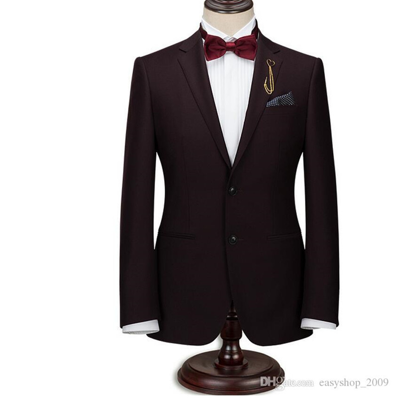 c246b00481a 28-4 28-1 Summer hot style men s suit handsome wine red suit wedding groom  three- 28-2 ...