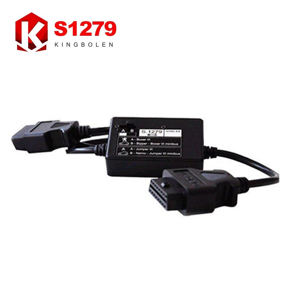 Prix pour Lexia 3 S1279 Interface Module S.1279 S 1279 obd2 mâle à obd2 femelle Câble Connecter Lexia3 Interface avec Voitures Livraison gratuite