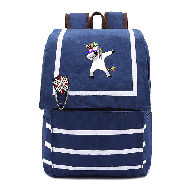 Cute unicorn Dab Backpack Galaxy School Bags Fashion Students Backpack Travel Bag for teenagers school girls baicpack womens fashion cute girls sequins backpack paillette leisure school bookbags leather backpack ladies school bags for teenagers