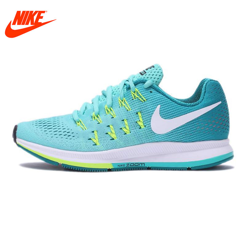 Original NIKE New Arrival Breathable AIR ZOOM PEGASUS 33 Women's Running Shoes Sneakers Outdoor Walking jogging