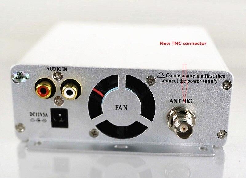 1 5W 15w pll FM transmitter FMU SER ST 15B with franquency range 87MHz 108MHz 5km