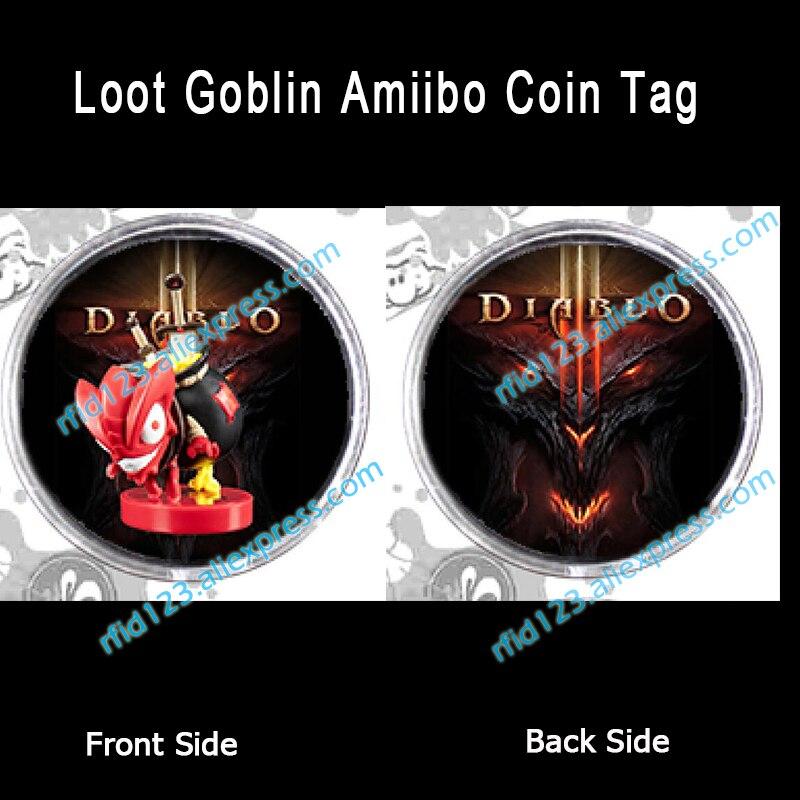 Amiibo Coin Tag Loot Goblin Amiibo  Diablo 3