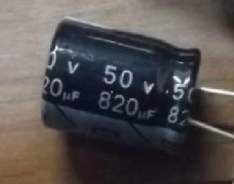 Electrolytic Capacitor 50V 820UF Capacitor
