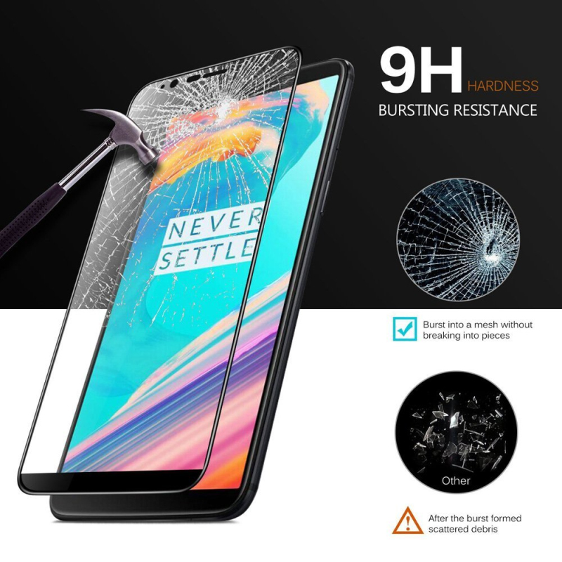 Oneplus 7 Pro Glass 5D Curved Edge for Oneplus 5t Screen Protector 9H Hardness Film for One Plus 7 6 5t Tempered Glass Oneplus7