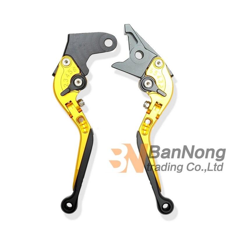 ФОТО motorcycle High-quality Modified CNC Aluminum Brake Clutch Hand Levers For HONDA CBR600F 11-12 CBF600/SA 10-12 Hornet 600
