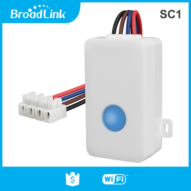 Broadlink sc1 wifi controller smart home automation module ios android phone app...