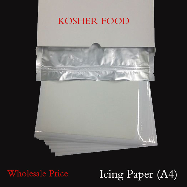 image relating to Edible Printable Paper for Cakes named 25personal computers Blank edible icing Paper for Cake Decorating, A4 Edible Printing Paper, Substantial High-quality Kosher Paper Totally free Shipping and delivery-inside of Other Cake Resources in opposition to Property