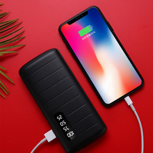 New power bank 12000mAh18650 mobile power supply with digital display charging treasure powerbank For iPhone X For xiaomi Hot