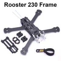 "Hahn 230 225mm 5 ""FPV Racing Drone Quadcopter Rahmen 5 Inch FPV Freestyle Rahmen Für Chamäleon Rooster 230mm"